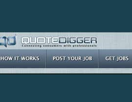 #248 для Logo Design for Quotedigger от greatdesign83