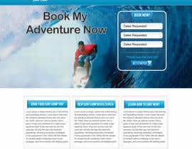 nº 7 pour Create A Killer Landing Page design for a young adults retreat par gravitygraphics7