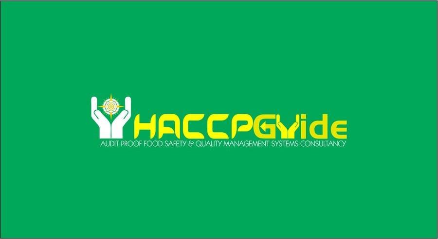 """Bài tham dự cuộc thi #                                        105                                      cho                                         Logo Design for company named """"HACCP Guide"""""""