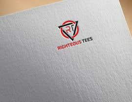 Nro 103 kilpailuun Righteous Tees Logo käyttäjältä tanveerk0956