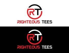 Nro 72 kilpailuun Righteous Tees Logo käyttäjältä Khandesign11