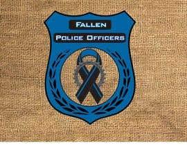 Nro 5 kilpailuun Police Supporter Flag/Graphic Design käyttäjältä vishingangel