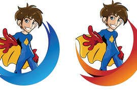 nº 15 pour Design an awesome vector logo for a superhero character - par bluemerry04