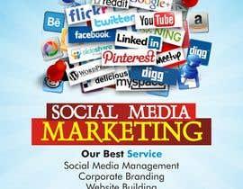 Nro 5 kilpailuun Social Media Marketing Flyer käyttäjältä dekaszhilarious