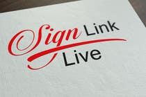 Sign Link Live için Graphic Design23 No.lu Yarışma Girdisi