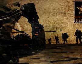 Nro 6 kilpailuun Illustrate a graphic with a Marines theme for a PS4 and xbox one console skin käyttäjältä Abhishek021992