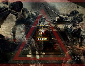Nro 12 kilpailuun Illustrate a graphic with a Marines theme for a PS4 and xbox one console skin käyttäjältä Abhishek021992
