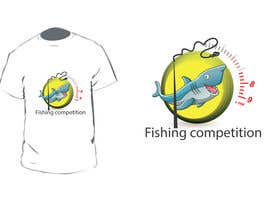 #44 para Design a Logo for fishing competition por vineshshrungare