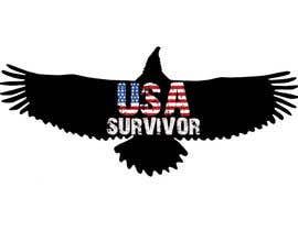 Nro 6 kilpailuun Design a Logo USA Survivor käyttäjältä parteekrsnr