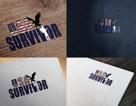 Nro 15 kilpailuun Design a Logo USA Survivor käyttäjältä cristinaa14