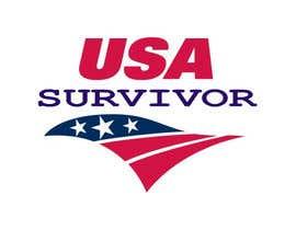 Nro 5 kilpailuun Design a Logo USA Survivor käyttäjältä BDESIGNSFIRM