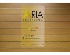 #27 for Need Someone to Design a Classy Business Cards for my Tutoring Comany by carlaamsilva