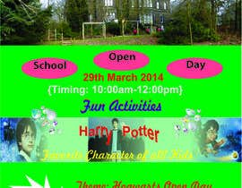 #34 for Design Flyer for School Open Day by Devoted4tasks