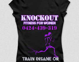 #53 para Fitness T-Shirt for Women por HRadillo
