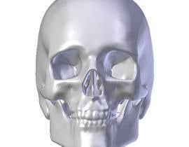 atuldutta tarafından 3D silver skull için no 6