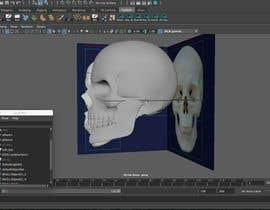 machindo tarafından 3D silver skull için no 9