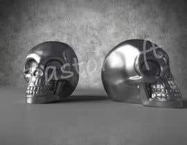 JosePastorsoft tarafından 3D silver skull için no 12
