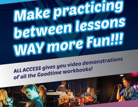 #2 for Basic A5 Flyer for a music school - EASY BRIEF! by madartboard