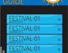 Nro 2 kilpailuun Graphic Design for Music Festival Guide (iPhone Application) käyttäjältä iconwebservices
