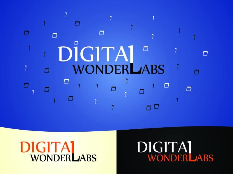 Kilpailutyö #12 kilpailussa Logo Design for Digital Wonderlabs