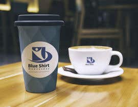 #10 for Design a label (print) for a disposable coffee cup by eybratka
