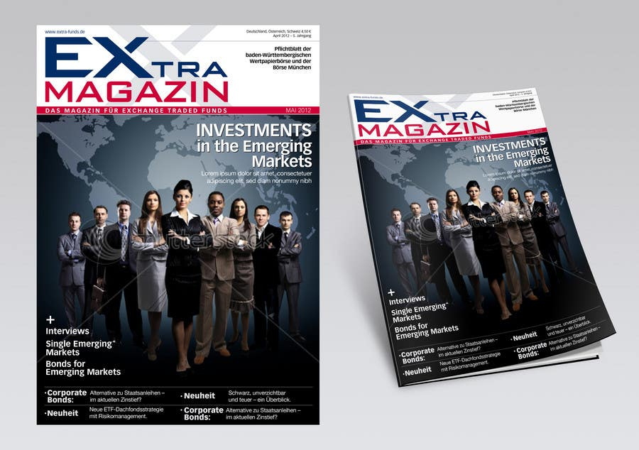 #12 for Cover Redesign for EXtra-Magazin by dizajnline