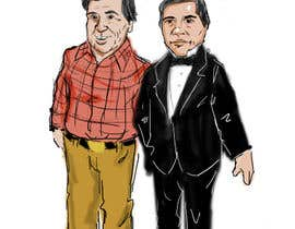 #3 cho Cartoon Drawing of Cesar Chavez and Benito Juarez bởi jayrollins427