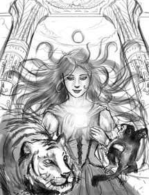 #14 para Illustrate for Pandora Chronicles  de desmmuncreations