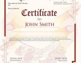 Nro 14 kilpailuun Product Certificate käyttäjältä kikadesignstudio