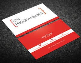 ClashWarrior tarafından Design Business Cards for Ion Programming için no 60