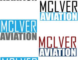 nº 111 pour Design a Logo for McIver Aviation par marioandi
