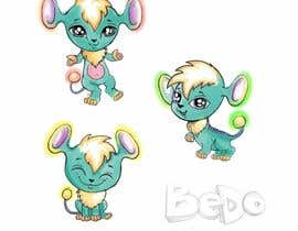 "Nro 73 kilpailuun We are making a new children's app and need a super cute, highly adorable and unique anime style ""animal character"" design (or illustration) that we can turn into a new 3d character in the app named Bedo. Bedo needs to be able to run, jump and play with i käyttäjältä alisadesigner"