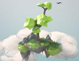 mtalhalodhi tarafından 3D Low Poly Landscape with a nice Tree için no 11