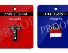 juicygraphix tarafından Design for souvenirs pin needed için no 47