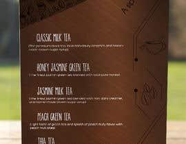 mendezak tarafından Design a Flyer/ Creative Drink Menu için no 4
