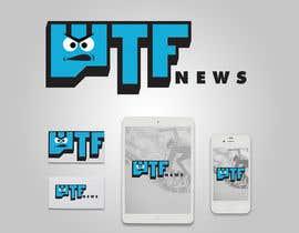 Nro 19 kilpailuun Design a logofor WTF News käyttäjältä robotofry