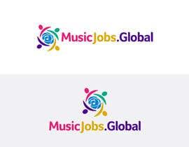Nro 55 kilpailuun MusicJobs.global - Logo Design käyttäjältä logofuturistic