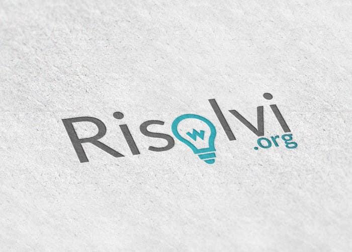Konkurrenceindlæg #91 for RISOLVI.ORG