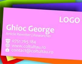 #11 for Design Some Business Cards by ghiocgeorge