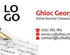 #12 cho Design Some Business Cards bởi ghiocgeorge