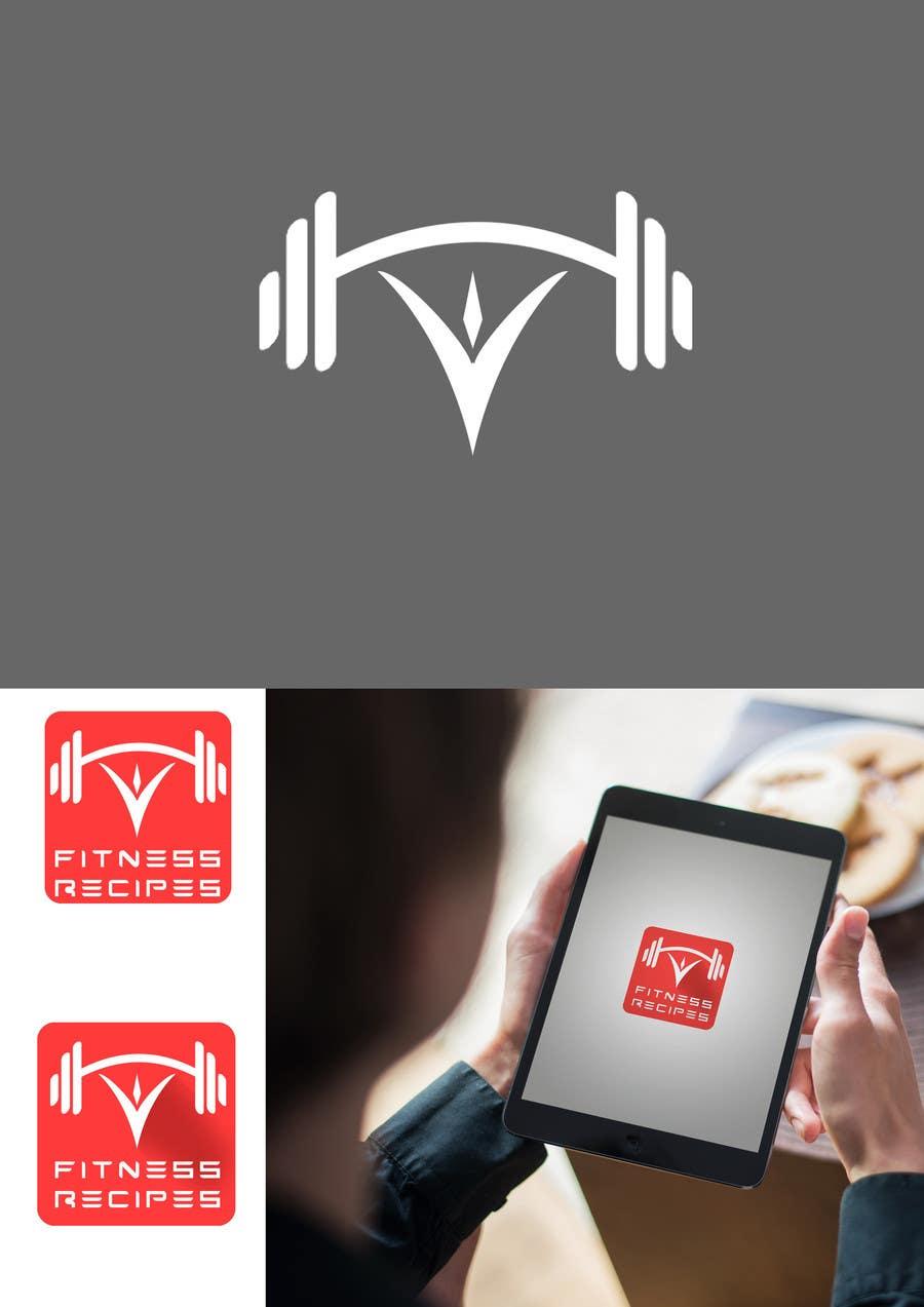 Kilpailutyö #31 kilpailussa Design a Logo for Fitness Recipes