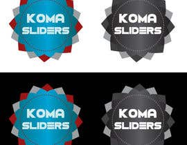 nº 15 pour Develop a Corporate Identity for Koma Sliders par IllusionG