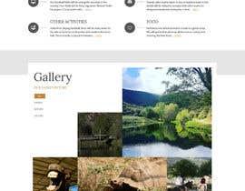 Nro 13 kilpailuun Design a long scrolling homepage website mockup käyttäjältä zafarchromatics