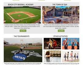 Nro 27 kilpailuun Design a long scrolling homepage website mockup käyttäjältä imranwebdesigner