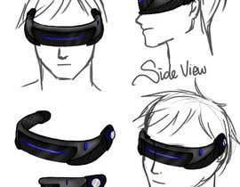 reginajessica96 tarafından Design a Sci-Fi Visor / Eyewear için no 6