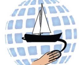 #20 untuk Design a Logo for a Boat Charter Internet Marketplace oleh thecompany1112