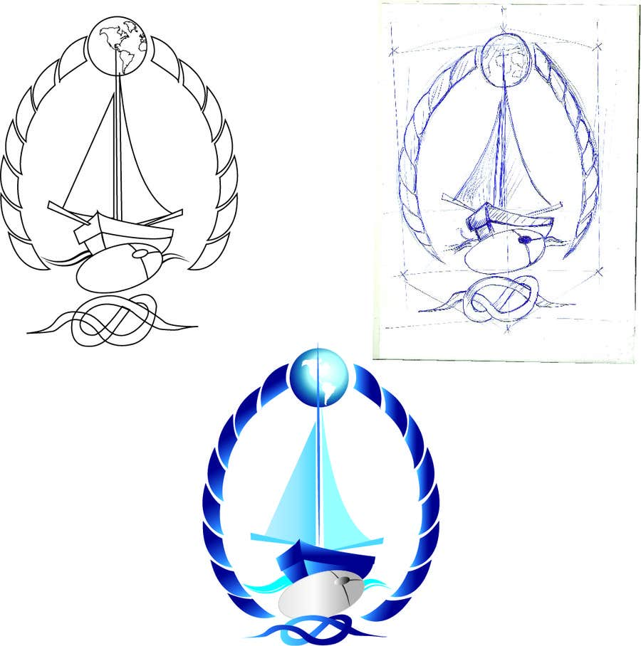 Contest Entry #22 for Design a Logo for a Boat Charter Internet Marketplace