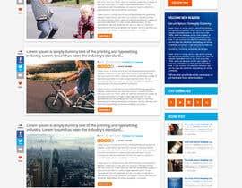Nro 24 kilpailuun Design A Blog Mock Up käyttäjältä nikil02an