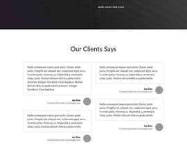 alexxanderron tarafından Design a Landing Page için no 15