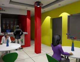 Nro 30 kilpailuun 3D Interior Design for Food Store käyttäjältä Fireprince14